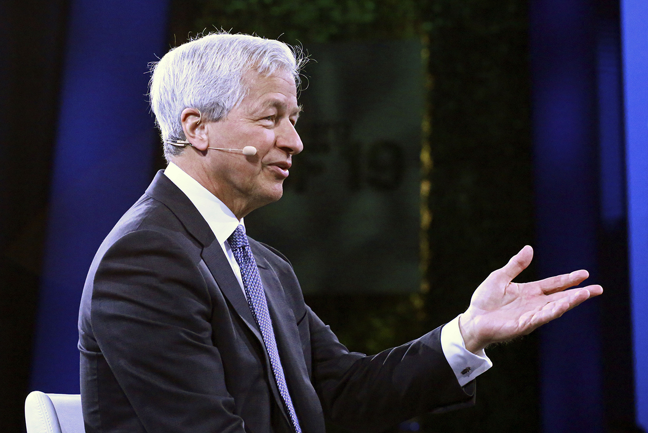 Jamie Dimon, Chairman and CEO of JP Morgan