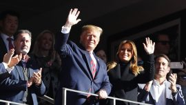 Trump Gets Warm Welcome, Chants at Alabama-LSU Game