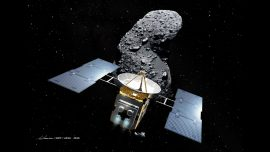 Japan Spacecraft Starts Yearlong Journey Home From Asteroid