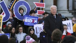 Biden Speaks Out Against Abolition of ICE