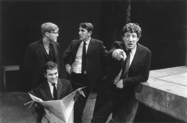 """Jonathan Miller (right) wrote and performed in """"Beyond the Fringe"""" with Alan Bennett,"""