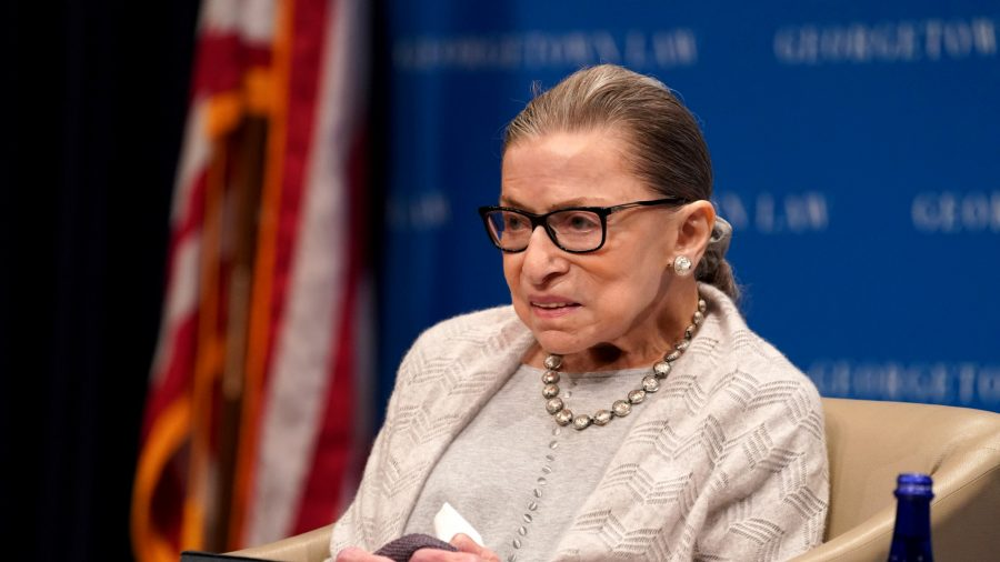 Ruth Bader Ginsburg in hospital for treatment on gallbladder