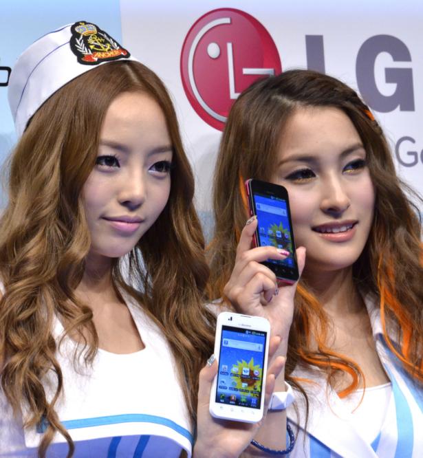 Koo Hara and Park Gyuri