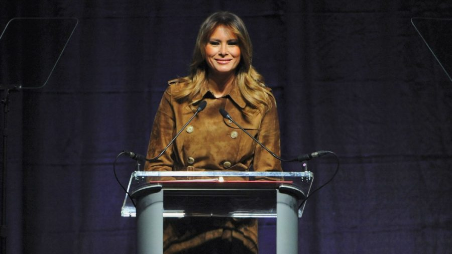 'We Live in a Democracy:' Melania Trump Speaks Out After Students Boo Her