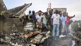 26 Killed as Small Plane Crashes Into Homes in Congo