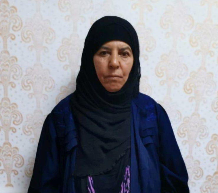 Rasmiya Awad, sister of slain Islamic State leader Abu Bakr al-Baghdadi