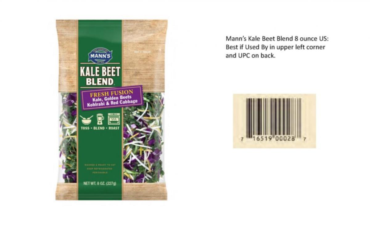 Mann's Kale Beet Blend