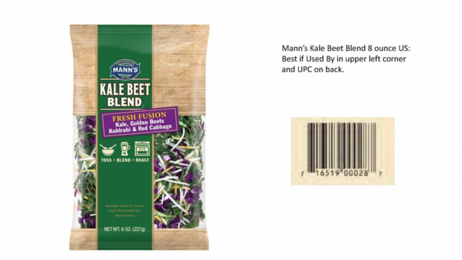 Packaged vegetables recalled due to possible Listeria contamination