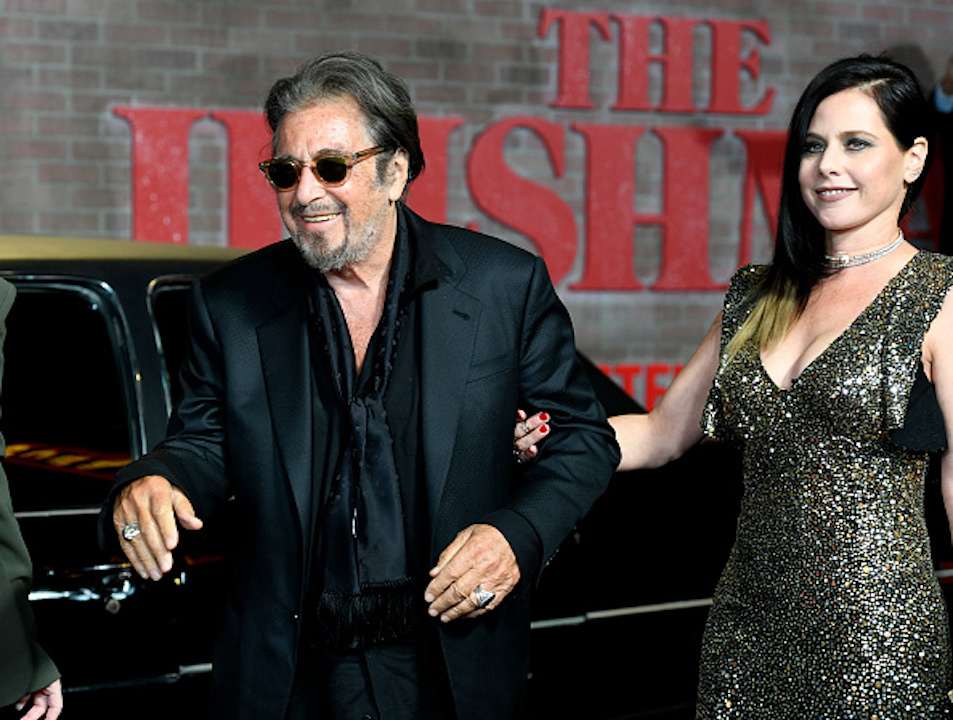 Al Pacino and Meital Dohan attend the Premiere Of Netflix's