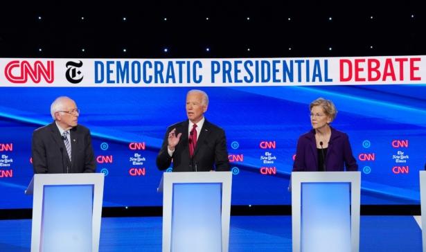 Biden, Sanders and Warren