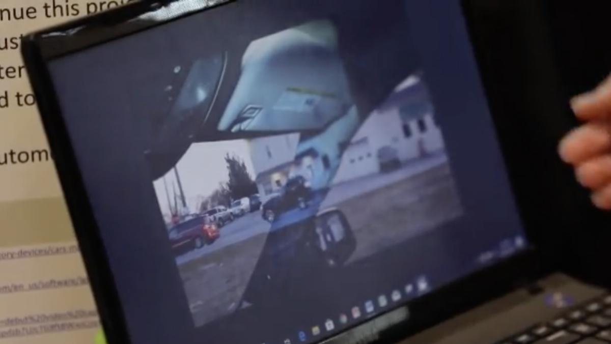 eliminate blind spot for cars 1