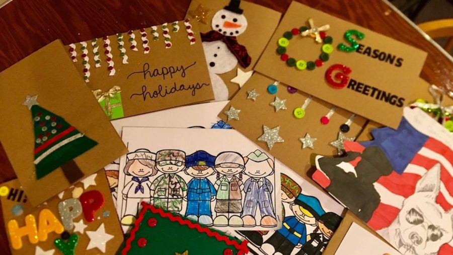 A New Hampshire Grandmother Is Sending 100,000 Holiday Cards to Troops Around the World