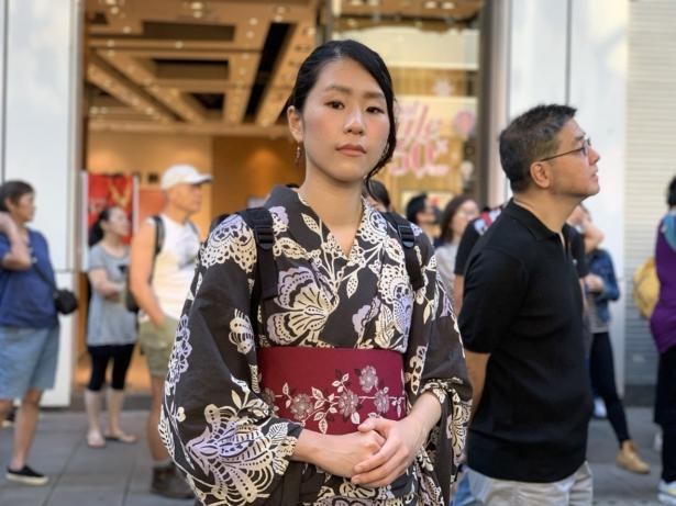 Japanese model Suzuko Hirano