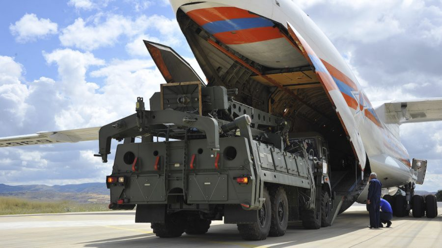 Turkey Tests Russian S-400 Defense System in Defiance of NATO Allies