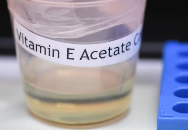 A vitamin E acetate sample