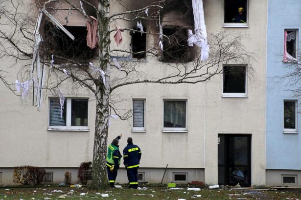 One Dead, 11 Injured in East German Gas Blast