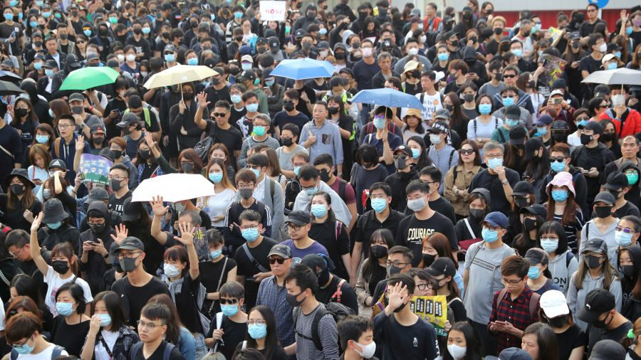 380,000 Hongkongers March to Renew Calls for Freedom and Democracy
