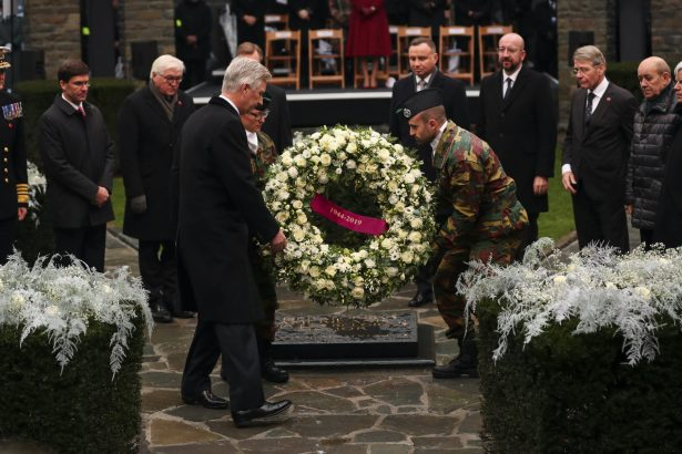 WWII Allies, Germany Mark 75 Years Since the Battle of the Bulge