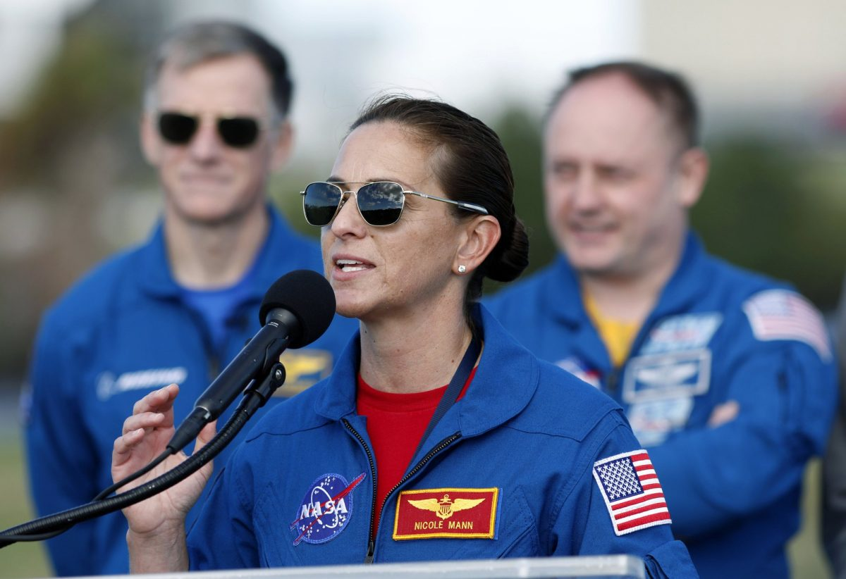 Boeing astronaut Chris Ferguson