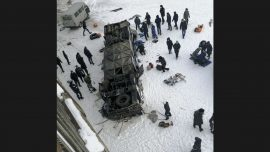19 Dead in Siberia After Bus Plunges Onto Frozen River