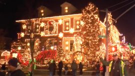 Dyker Heights Holiday Light Display