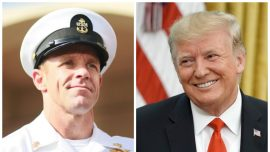Navy SEAL Acquitted of War Crimes Thanks President Trump With 'Little Gift' From Iraq