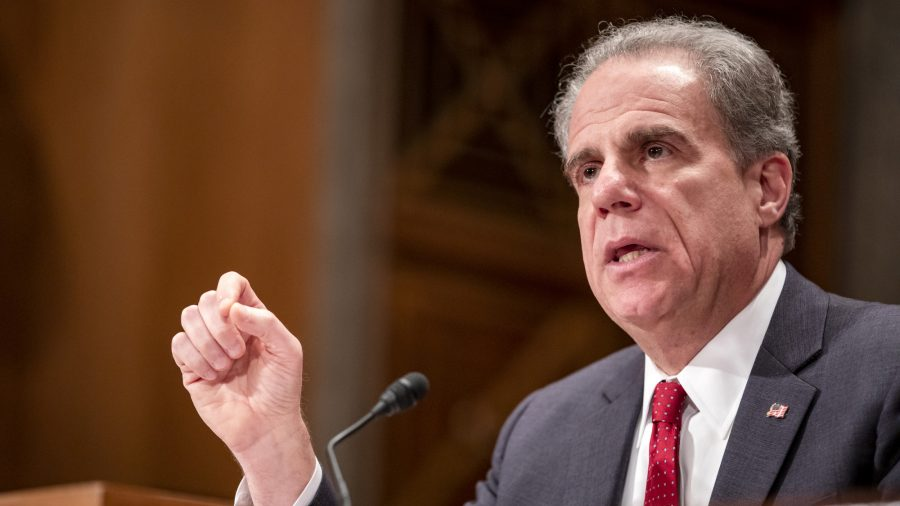 IG Michael Horowitz: 'Text Messages' Contained Evidence of 'Political Bias' at FBI