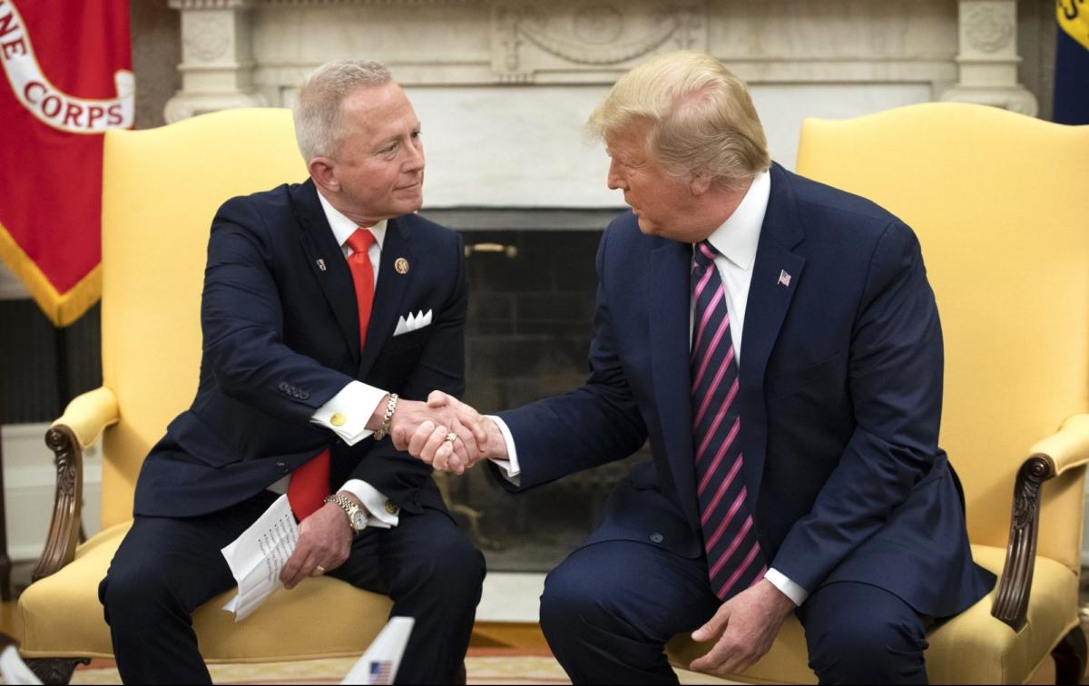 Jeff Van Drew and Trump