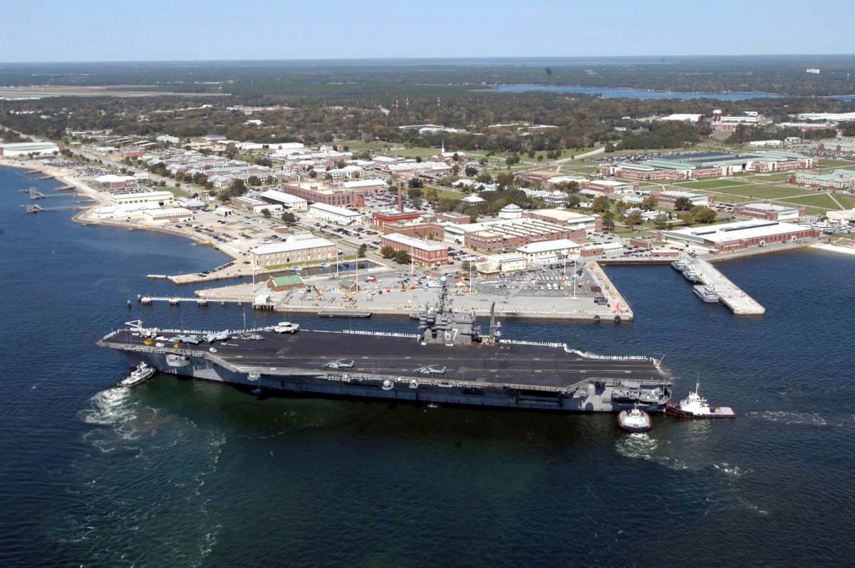 Naval Air Station Pensacola aerial