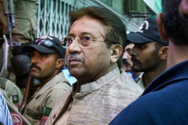 Pakistan military ruler Pervez Musharraf 1