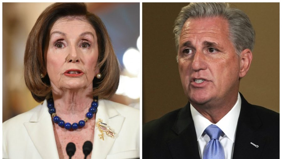 House GOP Leader Rejects Conservative Push to Remove Pelosi as Speaker