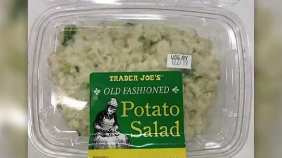 Trader Joe's Egg, Potato Salad Recall Due to Listeria