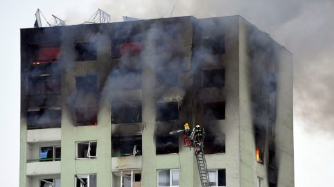 Gas Explosion Kills at Least Five, Injures 39, in Apartment Block in Slovakia