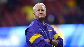 Under Weight of Family Tragedy, LSU Coach Crafts Big Win