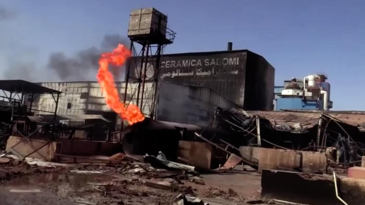 Sudan ceramics factory