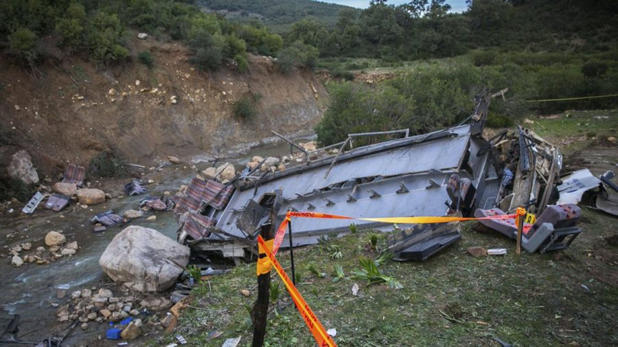 24 Killed in Tunisia When Bus Plummets Off Hill