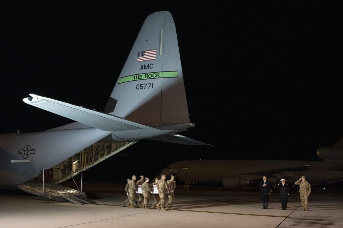 US navy air base