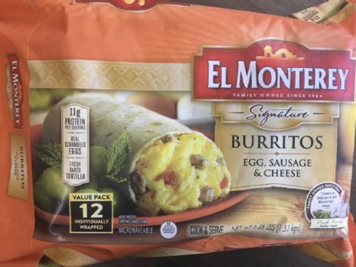 breakfast burrito recall