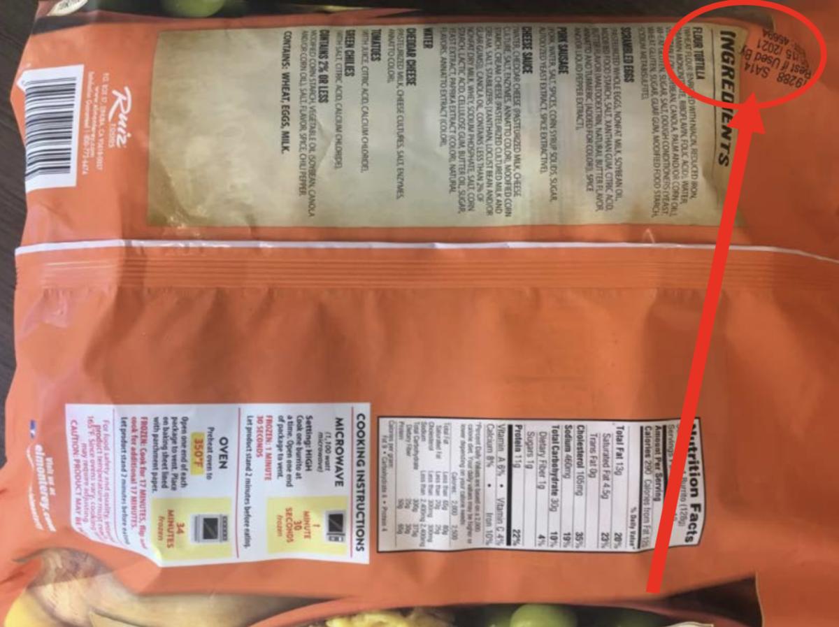 breakfast burrito recall 3