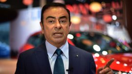 Ousted Renault-Nissan Boss Ghosn Leaves Japan for Lebanon: Reports