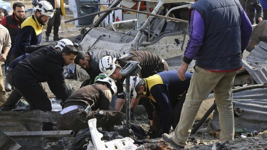 21 Die in Syria as Airstrike Targets Market, School Shelled