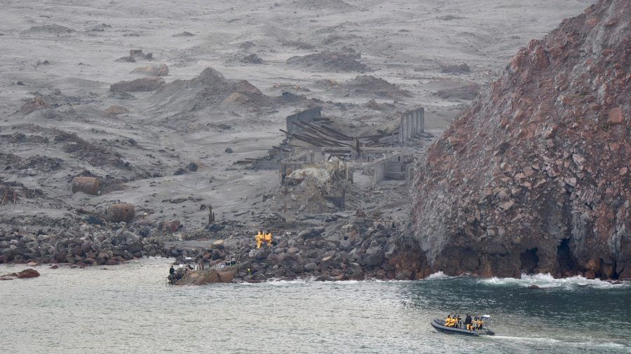 New Zealand Resumes Mission to Retrieve Remaining Bodies After Volcanic Eruption