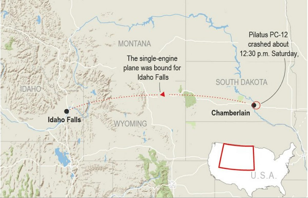 south dakota plane crash