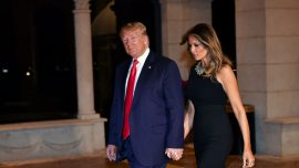 Trump Gets Melania a 'Beautiful Card' for Christmas but Is 'Still Working' on a Present
