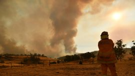 3 US Firefighters Killed as Aircraft Crashes in Australia