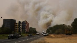 Bushfires Near Australia's Canberra Airport Force Nearby Suburbs to Evacuate