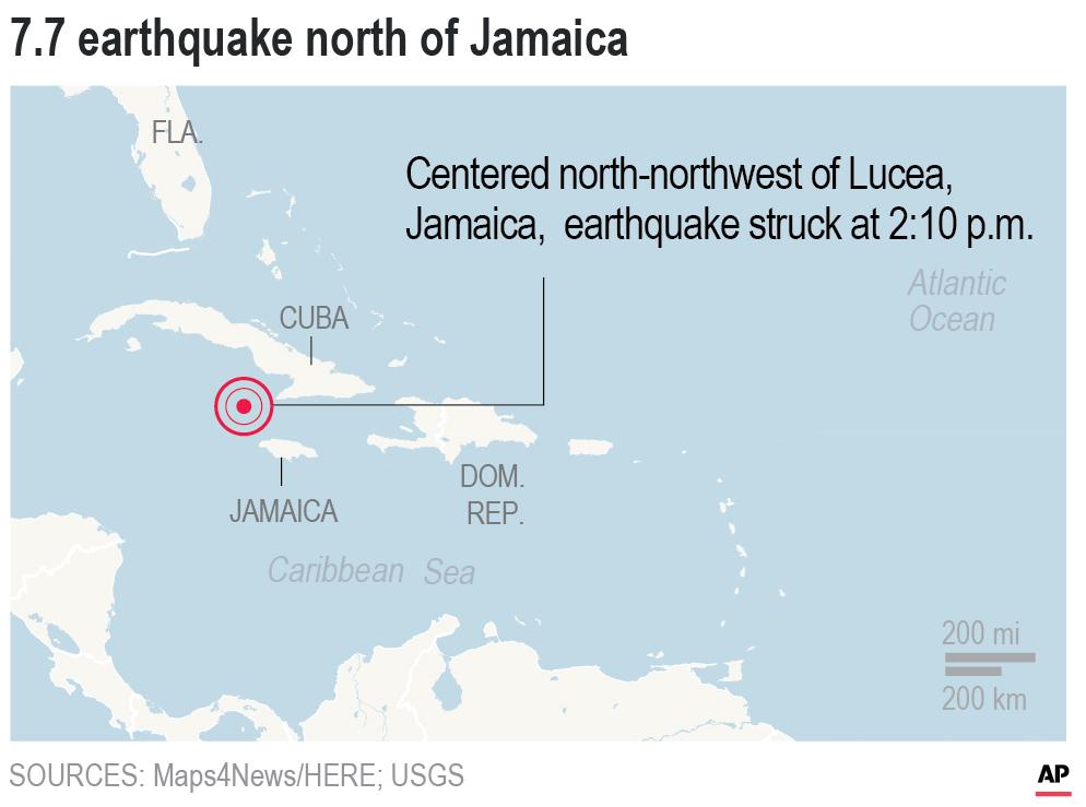 jamaica earthquake - photo #12