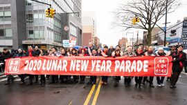 New York Celebrates Chinese New Year Despite Gray Skies