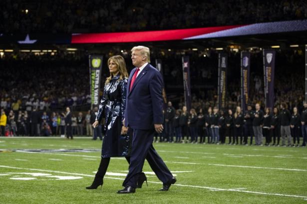 President Trump Melanie Trump