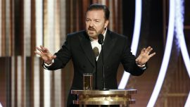 Ricky Gervais Responds to Criticism of His Golden Globes Speech After Backlash